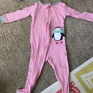 Carters 18 month footed pajama